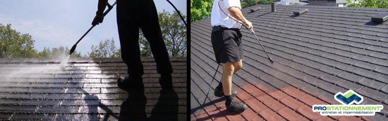 Imperméabilisation des toitures par Prostationnement