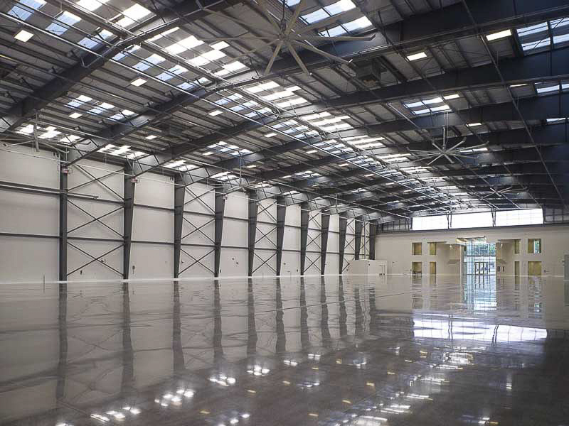 epoxy-plancher-garage-aeroport