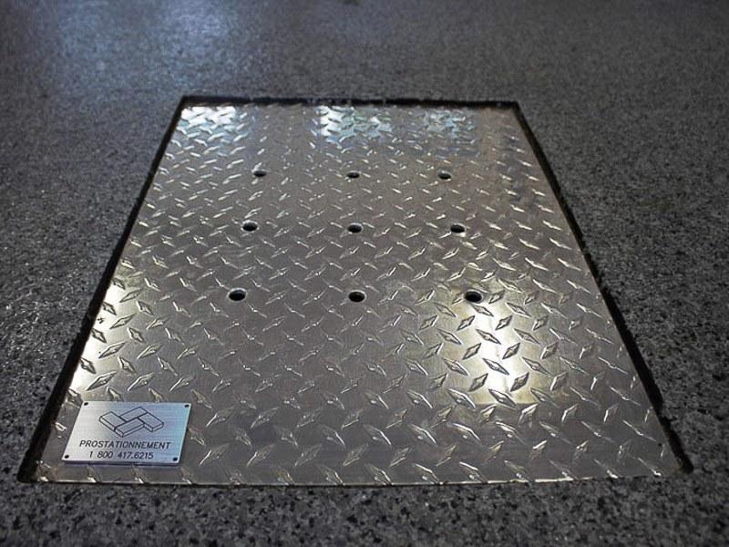 grille pour plancher de garage