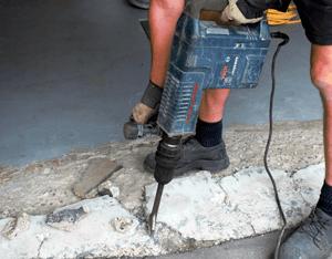 ☐ Concrete repair