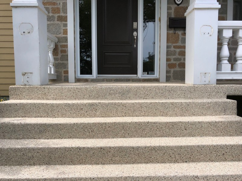 polyurea-reparation-beton-perron-patio-Prostationnement