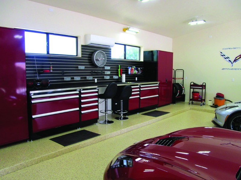 meuble-garage-haut-gamme-Rousseau- Prostationnement-Brossard